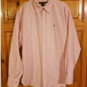 Polo Ralph Lauren Striped Pink/White Men's